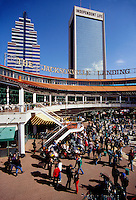 Jacksonville Landing, a shopping mall on the St. John's River, Jacksonville, Florida