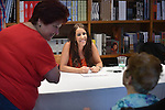 CORAL GABLES, FL - JULY 12: Pattie Mallette, mother of Justin Bieber, signs copies of her book 'Nowhere But Up - Teen Edition' at Books and Books on July 12, 2013 in Coral Gables, Florida. (Photo by Johnny Louis/jlnphotography.com)