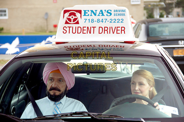 LEARNING TO DRIVE (2014)<br /> Ben Kingsley and Patricia Clarkson<br /> *Filmstill - Editorial Use Only*<br /> CAP/FB<br /> Image supplied by Capital Pictures