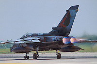 - Italian Air Force, strike aircraft Tornado IDS of 6th Wing....- Aeronautica Militare Italiana, aereo da attaccoTornado IDS  del 6° Stormo......