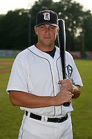 July 7th 2008:  Wade LaMont of the Oneonta Tigers, Class-A affiliate of Detroit Tigers, during a game at Damaschke Field in Oneonta, NY.  Photo by:  Mike Janes/Four Seam Images