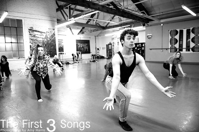 The Exhale Dance Tribe rehearses for RAPTURE at the Aronoff Center for the Arts in Cincinnati, Ohio.