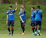07.05.2018 Rangers training: Eduardo herrera and Josh Windass