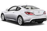 Rear three quarter view of a 2013 Hyundai Genesis Coupe 2.0T