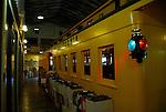 wine in railroad car in Calistoga railroad station