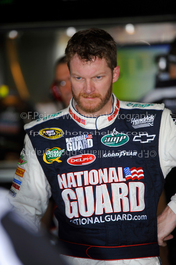 6-8 August, 2010, Watkins Glen, New York USA.Dale Earnhardt, Jr..©2010 F.Peirce Williams, USA.