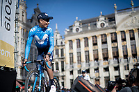 Nairo Quintana (COL/Movistar)<br /> <br /> Official 106th Tour de France 2019 Teams Presentation at the Central Square (Grote Markt) in Brussels (Belgium)<br /> <br /> ©kramon