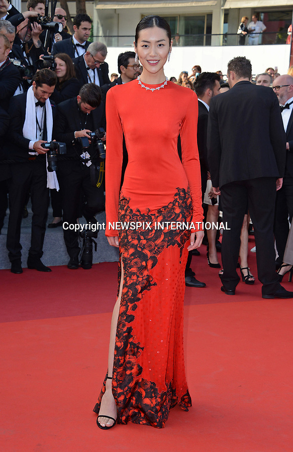 24.05.2017; Cannes, France: LIU WEN<br /> attends the screening of &ldquo;The Beguiled&rdquo; at the 70th Cannes Film Festival, Cannes<br /> Mandatory Credit Photo: &copy;NEWSPIX INTERNATIONAL<br /> <br /> IMMEDIATE CONFIRMATION OF USAGE REQUIRED:<br /> Newspix International, 31 Chinnery Hill, Bishop's Stortford, ENGLAND CM23 3PS<br /> Tel:+441279 324672  ; Fax: +441279656877<br /> Mobile:  07775681153<br /> e-mail: info@newspixinternational.co.uk<br /> Usage Implies Acceptance of Our Terms &amp; Conditions<br /> Please refer to usage terms. All Fees Payable To Newspix International