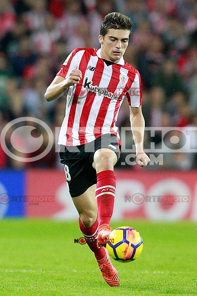 Athletic de Bilbao's Inigo Cordoba during La Liga match. October 28,2017. (ALTERPHOTOS/Acero) /NortePhoto.com