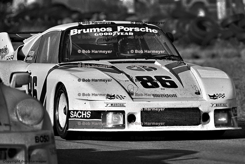 Hurley Haywood, Al Holbert and Bruce Leven drove Leven's Porsche 935 to victory in 1981.
