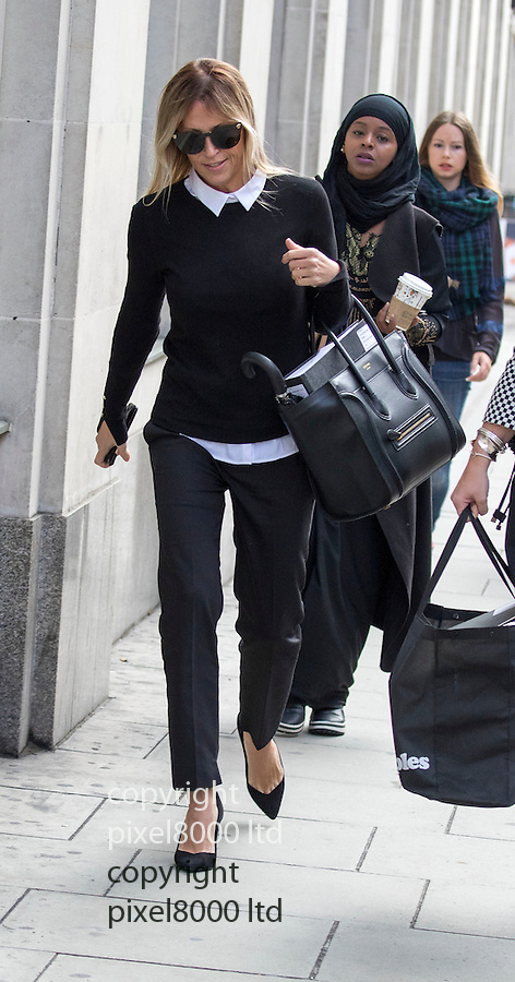 Pic shows: Nicole Appleton  - former All Saints girlbander<br /> <br /> and ex wife of Liam Gallagher<br /> <br /> <br /> Former Oasis singer Liam Gallagher today arrived at court alongside one of the country's top divorce lawyers.<br /> The 42-year-old musician, who is embroiled in a legal battle with his ex-wife Nicole Appleton, was seen outside the Central Family Court in London with Fiona Shackleton.<br /> Baroness Shackleton, a relative of Nigella Lawson, represented Prince Charles in his 1996 divorce from Princess Diana and Sir Paul McCartney in his 2008 divorce from Heather Mills. <br /> <br /> <br /> <br /> <br /> <br /> <br /> <br /> Pic by Gavin Rodgers/Pixel 8000 Ltd  17.9.15
