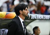 Sportmanager Bruno Hübner (Eintracht Frankfurt) - 18.04.2019: Eintracht Frankfurt vs. Benfica Lissabon, UEFA Europa League, Viertelfinale, Commerzbank ArenaDISCLAIMER: DFL regulations prohibit any use of photographs as image sequences and/or quasi-video.