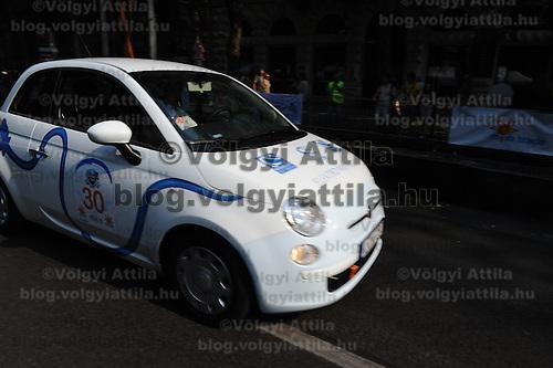 Energy Race for alternative powered cars in Budapest, Hungary on September 18, 2011. ATTILA VOLGYI