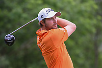 Peter Uihlein (USA) watches his tee shot on 18 during round 3 of the AT&T Byron Nelson, Trinity Forest Golf Club, Dallas, Texas, USA. 5/11/2019.<br /> Picture: Golffile | Ken Murray<br /> <br /> <br /> All photo usage must carry mandatory copyright credit (© Golffile | Ken Murray)