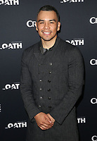 07 March 2018 - Culver City, California - Joseph Julian Soria. &quot;The Oath&quot; TV Series Los Angeles Premiere held at Sony Pictures Studios.   <br /> CAP/ADM/FS<br /> &copy;FS/ADM/Capital Pictures