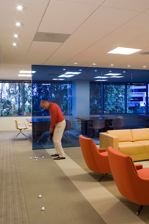 Gensler Design - Colliers International, La Jolla CA<br /> Gensler's San diego office designed Colliers International La Jolla California offices in 2007. It's a commercial real estate company, with a relaxed, sports-oriented feel throughout the executive offices