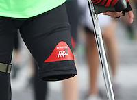 BOGOTA -COLOMBIA , 3- ABRIL-2016. Carrera atlética 10k presta tu pierna /  Atletic race 10k borrow your leg . Photo: VizzorImage / Felipe Caicedo / Staff