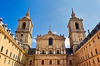 Real Basilica, Monasterio de El Escorial, San Lorenzo de El Escorial, Spain