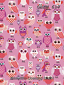 Kate, GIFT WRAPS, GESCHENKPAPIER, PAPEL DE REGALO, paintings+++++Valentine Owls.,GBKM617,#gp#, EVERYDAY,owls