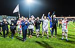 S&ouml;dert&auml;lje 2014-11-09 Fotboll Kval till Superettan Assyriska FF - &Ouml;rgryte IS :  <br /> Assyriskas spelare jublar efter matchen mellan Assyriska FF och &Ouml;rgryte IS <br /> (Foto: Kenta J&ouml;nsson) Nyckelord:  S&ouml;dert&auml;lje Fotbollsarena Kval Superettan Assyriska AFF &Ouml;rgryte &Ouml;IS jubel gl&auml;dje lycka glad happy