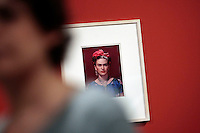 Ritratti fotografici di Frida<br /> Roma 18-03-2014 Scuderie del Quirinale. Inaugurazione vernissage della mostra dedicata a Frida Kahlo.<br /> Opening of the exhibition of Frida Kahlo.<br /> Photo Samantha Zucchi Insidefoto