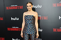 www.acepixs.com<br /> <br /> April 25 2017, LA<br /> <br /> Madeline Brewer arriving at the premiere of  'The Handmaid's Tale' at the ArcLight Cinemas Cinerama Dome on April 25, 2017 in Hollywood, California.<br /> <br /> By Line: Peter West/ACE Pictures<br /> <br /> <br /> ACE Pictures Inc<br /> Tel: 6467670430<br /> Email: info@acepixs.com<br /> www.acepixs.com