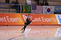SCHAATSEN: CALGARY: Olympic Oval, 09-11-2013, Essent ISU World Cup, 1500m, Anna Rokita (AUT), ©foto Martin de Jong
