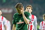 12.03.2018, Weser Stadion, Bremen, GER, 1.FBL, Werder Bremen vs 1.FC Koeln, im Bild<br /> <br /> Niklas Moisander (Werder Bremen #18)<br /> <br /> Foto &copy; nordphoto / Kokenge