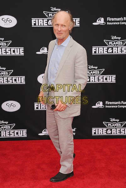 HOLLYWOOD, CA- JULY 15: Actor Ed Harris arrives at the Los Angeles premiere of Disney's 'Planes: Fire &amp; Rescue' at the El Capitan Theatre on July 15, 2014 in Hollywood, California.<br /> CAP/ROT/TM<br /> &copy;Tony Michaels/Roth Stock/Capital Pictures