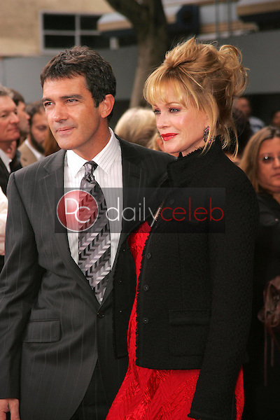 Antonio Banderas and Melanie Griffith<br />
