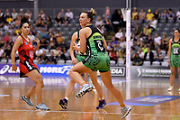 Pulse' Claire Kersten in action during the ANZ Premiership - Pulse v Tactix at Fly Palmy Arena, Palmerston North, New Zealand on Sunday 10 March 2019. <br /> Photo by Masanori Udagawa. <br /> www.photowellington.photoshelter.com