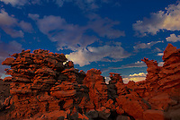 746000060c a clearing summer thunderstorm at sunset over the hoodoos in fantasy canyon blm lands utah united states