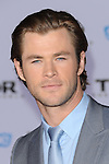 "Chris Hemsworth at the premiere of Marvel's ""Thor The Dark World"" held at El Capitan Theatre Los Angeles, Ca. November 4, 2013"