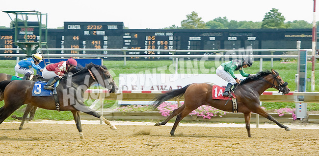 Lemon Juice winning at Delaware Park on 9/1/12