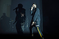 LONDON, ENGLAND - SEPTEMBER 9: Sergio Pizzorno of 'S.L.P' performing at EartH on September 9, 2019 in London, England.<br /> CAP/MAR<br /> ©MAR/Capital Pictures