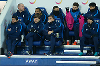 Tottenham manager Mauricio Pochettino during the Premier League match between Leicester City and Tottenham Hotspur at the King Power Stadium, Leicester, England on 28 November 2017. Photo by James Williamson / PRiME Media Images.