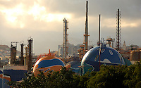 Oil refinery in Santa Cruz de Tenerife, Canary Islands.