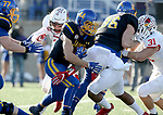 BROOKINGS, SD - NOVEMBER 11: Brady Mengarelli #44 from South Dakota State University breaks loose for a gain against Illinois State during their game Saturday afternoon at Dana J. Dykhouse Stadium in Brookings. (Photo by Dave Eggen/Inertia)