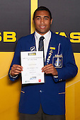 Boys Rugby Union winner Joseph Edwards from Saint Kentigern College. ASB College Sport Young Sportsperson of the Year Awards held at Eden Park, Auckland, on November 24th 2011.