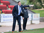 St Johnstone v Dundee United...19.04.14    SPFL<br /> Tommy Wright shouts instructions<br /> Picture by Graeme Hart.<br /> Copyright Perthshire Picture Agency<br /> Tel: 01738 623350  Mobile: 07990 594431