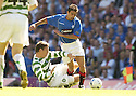 20/08/2005         Copyright Pic : James Stewart.File Name : jspa01 rangers v celtic.ALAN THOMPSON IS SENT OFF FOR THIS LATE CHALLENGE ON NACHO NOVO.Payments to :.James Stewart Photo Agency 19 Carronlea Drive, Falkirk. FK2 8DN      Vat Reg No. 607 6932 25.Office     : +44 (0)1324 570906     .Mobile   : +44 (0)7721 416997.Fax         : +44 (0)1324 570906.E-mail  :  jim@jspa.co.uk.If you require further information then contact Jim Stewart on any of the numbers above.........