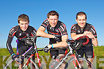 THE CHAIN GANG SPORTIVES: Ciaran Moss, Darragh Crowley and Donnacha Clifford of the Chain Gang Cycling Club calling all cyclists to take part in Kerry's premier cycle challenges, The Conor Pass Challenge and The Blasket Blast to be held on Saturday September 17th leaving Kerins O'Rahilly's clubhouse, Tralee at 9:30am.