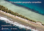 Our aerial image of Tuvalu was used for the 2014 Australian geography competition.  Licenced by The Royal Geographical Society of Queensland Inc.