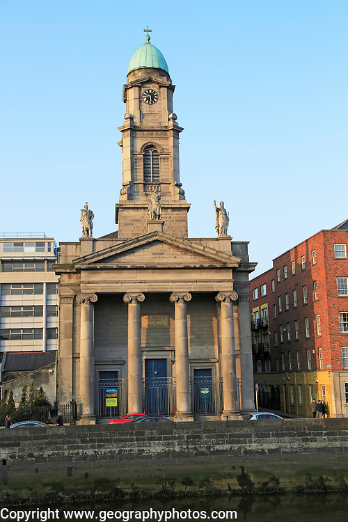 Church of Saint Paul, Arran Quay, city of Dublin, Ireland, Irish Republic, 1835-37 designed by Patrick Byrne