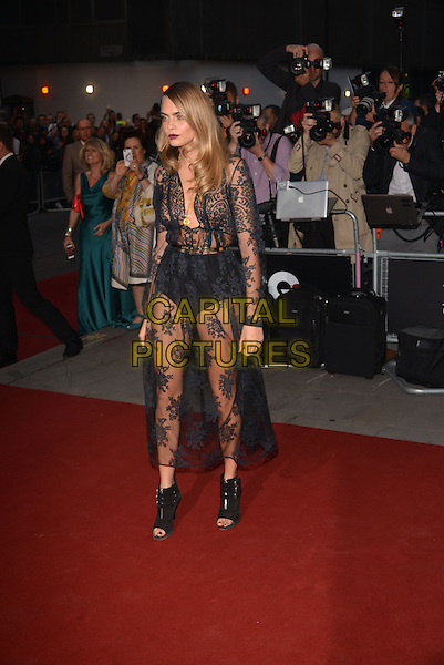 LONDON, ENGLAND SEPTEMBER 02:  Cara Delevingne attends the GQ Men of the Year 2014 awards in association with Hugo Boss at The Royal Opera House on September 2, 2014 in London, England.<br /> CAP/PL<br /> &copy;Phil Loftus/Capital Pictures