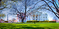 White House, Executive  home of the President of the United States, Nation's Capital, Washington DC, USA