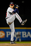 15 September 2007: Atlanta Braves pitcher Ron Mahay on the mound against the Washington Nationals at Robert F. Kennedy Memorial Stadium in Washington, DC. The Nationals defeated the Braves 7-4 in the second game of their 3-game series...Mandatory Photo Credit: Ed Wolfstein Photo