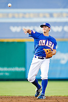 July 2nd, 2010 Kurt Mertins (9) in action during MiLB play between the Iowa Cubs and the Omaha Royals. Iowa Cubs won 5-3 at Rosenblatt Stadium, Omaha Nebraska.