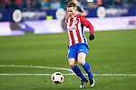 "Atletico de Madrid's Kevin Gameiro  during the match of ""Copa del Rey"" between Atletico de Madrid and Gijuelo CF at Vicente Calderon Stadium in Madrid, Spain. december 20, 2016. (ALTERPHOTOS/Rodrigo Jimenez)"