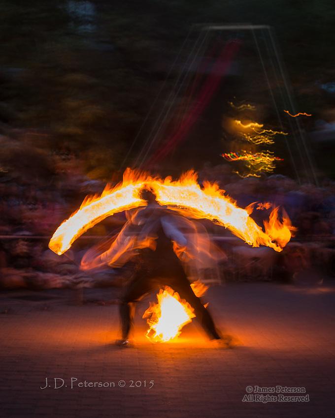 Dia de Los Muertos Fire Dance #4, Sedona, Arizona